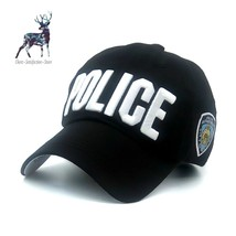 Police Cap Snap Back Hat NYC Camo Baseball Adjustable Stylish Casquette Summer - $12.87