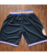 New Fashion Space Jam Basketball Shorts Tune Squad White Black Basketbal... - $25.00