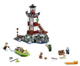 437pcs/set DIY Haunted Lighthouse Scooby Doo Minifigures Building Model ... - $38.99