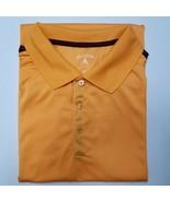 Antigua Performance Vented Wicking Polo Golf Shirt - Orange/Maroon - XXL - $15.75