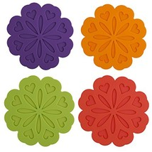 ME.FAN 4 Set Silicone Pot Holders, Trivet Mat, Jar Opener, Spoon Rest an... - $14.31