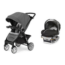 Chicco 3-in-1 Bravo LE Stroller + KeyFit 30 Magic Car Seat & Base Travel... - $558.90