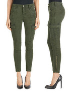 New J Brand Jeans Womens Skinny Pants Houlihan 25 Distressed Caledon Gre... - $88.00
