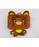 "Infantino HappiTaps Bear Smartphone Case Protector Plush 5"" Tall Stuffed... - $3.55"