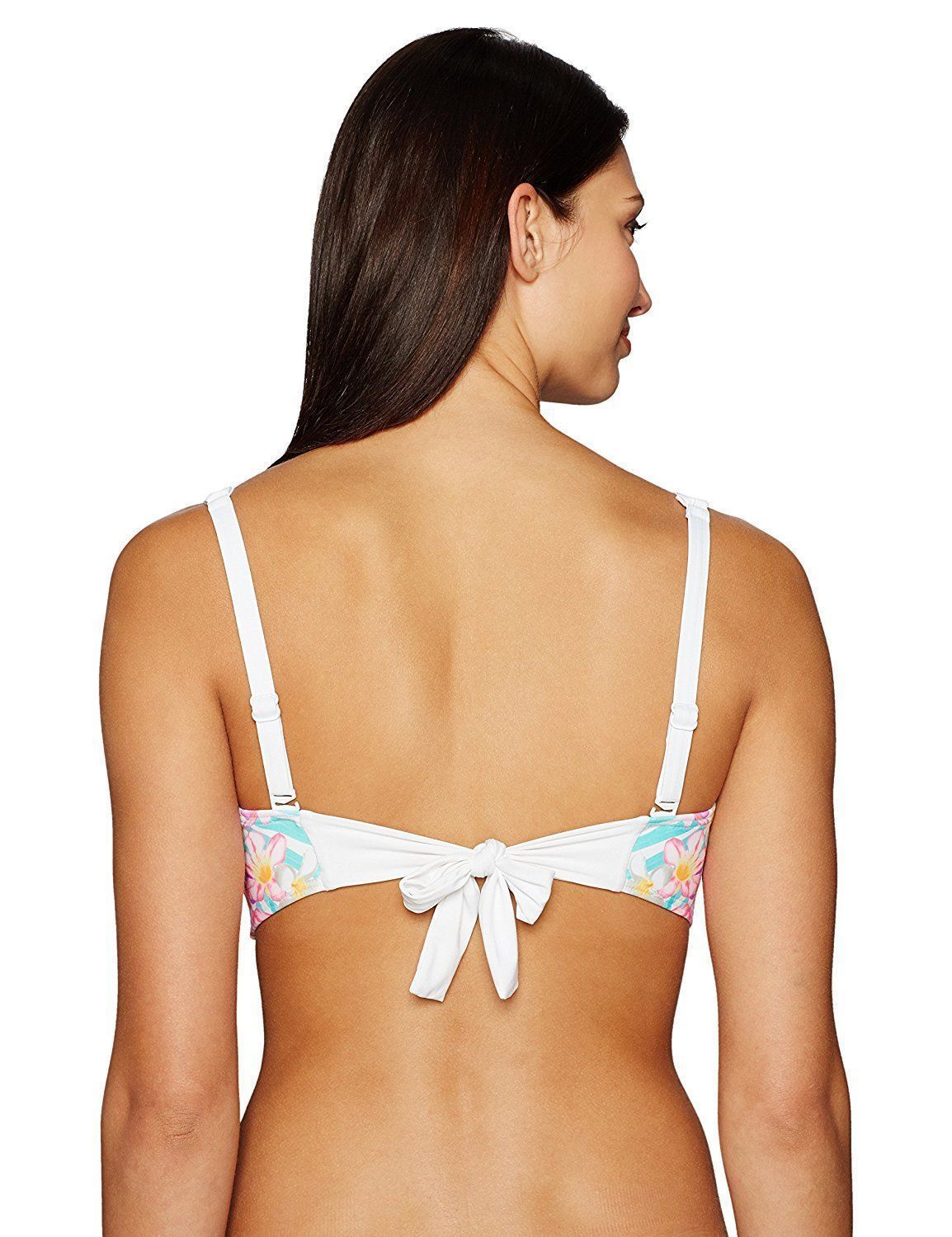 NEW Coco Reef Tropical Escape Convertible Five Way Bikini Swimwear Top 32/34 C