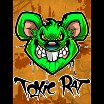 Toxic Rat by Ceelo (24x36 giclee print on canvas) - $270.00