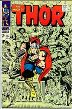 Thor #154-1968-JACK KIRBY-MARVEL-SILVER Age Vf - $88.27