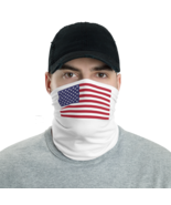 Usa face cover / Fabric Neck Gaiter - $29.00