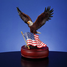 San Francisco Music Box Co. American Eagle Figurine Music Box - $58.80