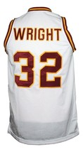 Monica Wright Love And Basketball Jersey New Sewn White Any Size image 5
