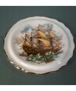 Royal Grafton Fine Bone China Mini Plate~ Sailboat - $3.96