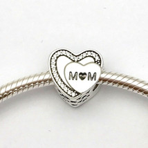 Pandora Tribute to Mom Charm, 792070cz, Sterling Silver, New - $47.49