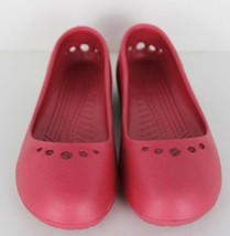 Crocs Prima Donna Ballerine Scarpe Basse Slip-On Rosa Misura 7 - $18.41