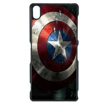 Avengers, Captain America Sony Z1 case Customized premium plastic phone case, de - $11.87