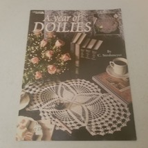 A Year of Doilies 12 Designs Leisure Arts - $9.48