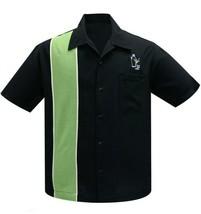 Steady Clothing Palm Springs Cóctel Bolos Verde Botón Abajo Camisa ST35618 - $55.64