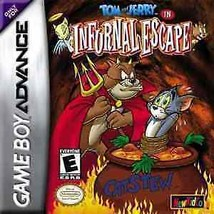 Tom and Jerry in Infurnal Escape (Nintendo Game Boy Advance, 2003) - $3.14