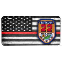 North Shore Staten Island Battalion 22 Aluminum License Plate Firemen - $13.81
