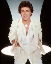 Frankie Valli Classic Studio Photo Shoot in Open White Shirt 16x20 Canvas - $69.99