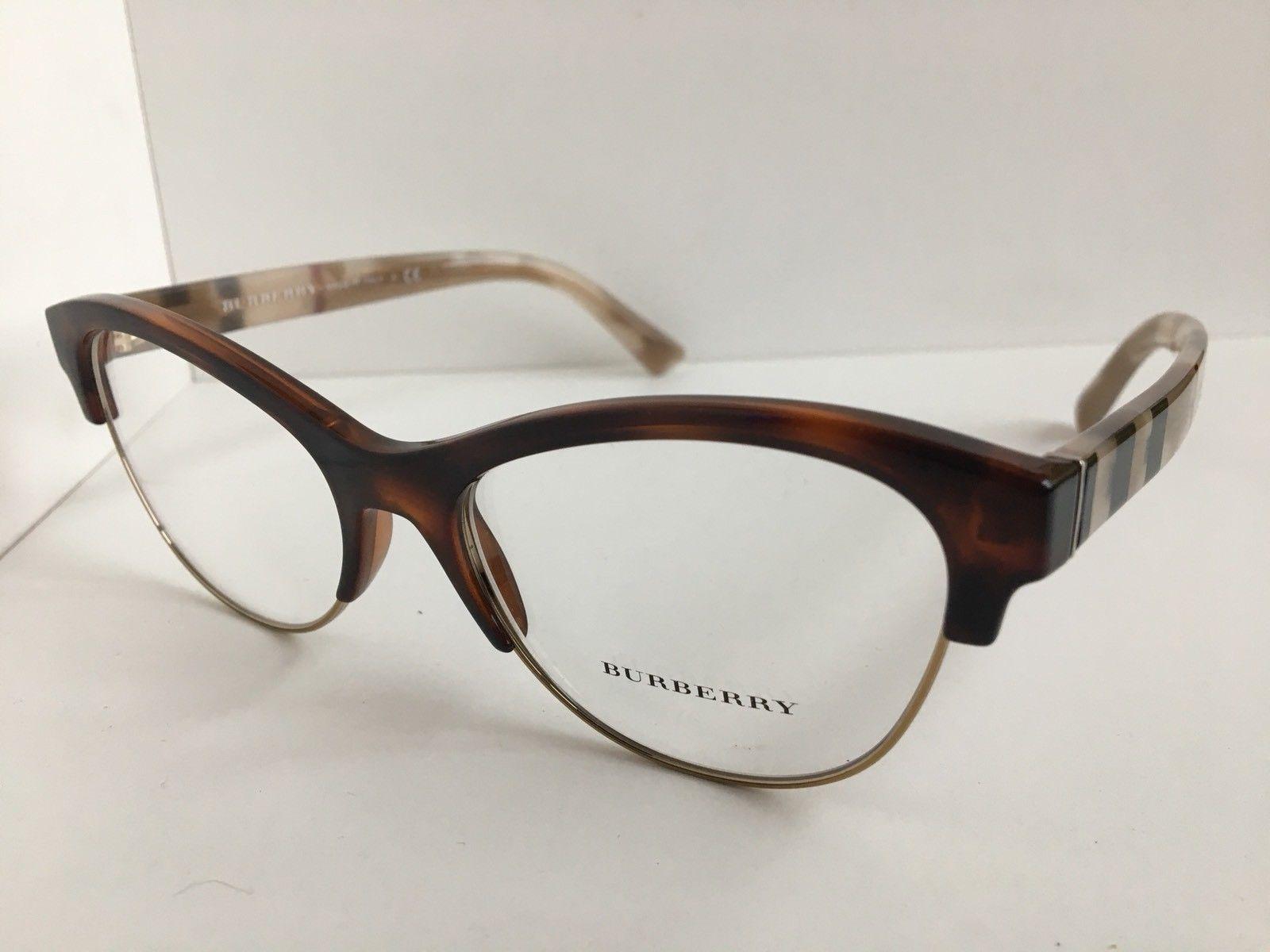 90b207c04978 New BURBERRY B 2235 3601 53mm Brown Cats Eye Rx Women Eyeglasses Frame