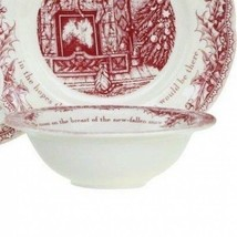 Johnson Brothers Twas the Night Before Christmas 4 CEREAL BOWLS NEW - $59.39