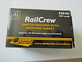 Rapido #320101 RailCrew Switch Machine with Rotating  Target HO Scale image 1