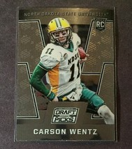 2016 Panini Prizm Draft Picks #127 Carson Wentz RC NM/MT - $7.80