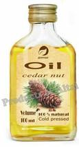 Cedar nut oil,100 ml. 100% NATURAL. Altai,Siberia, Russia. - $15.90