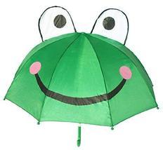 PANDA SUPERSTORE Cute Cartoon Creative Umbrella Kids' Umbrella Frog - $32.16