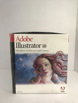 Adobe Illustrator 10 Full Version Windows New Sealed In Original Box - $98.99