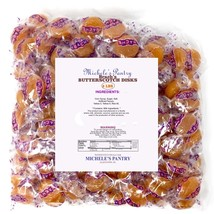 -Brach's Butterscotch Disks Hard Candies 4 lbs Free Shipping in USA - $22.99