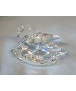 "Swarovski Crystal Figurine 7633 NR63, 3"" Swan in Original Box - $45.43"