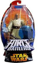 Star Wars Force Battlers Mace Windu Firing Jedi Gauntlet Action Figure - $24.64