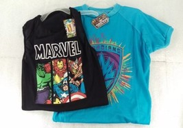 2 Marvel XL Avenger Pet Shirt Black Tank Top Block Blue Guardians Galaxy... - $24.23