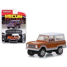 1977 Ford Bronco Ranger Cinnamon Brown and White (Indianapolis 2018) Mec... - $12.76