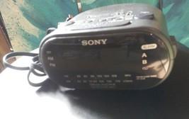 Sony radio FM/AM  alarm clock dream machine aut... - $8.55