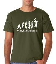 Volleyball Evolution  Premium Men's T-Shirt  - Men's Funny T Shirt - Men... - $14.88