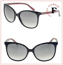 GUCCI 3694 Red Green Web Rubber Black Gradient Sunglasses GG0508S 0508 W... - $296.01