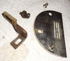 Domestic Rotary 151 Needle Plate #770 w/Feed Dog & Mounting Screws - $15.00