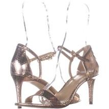 MICHAEL Michael Kors Simone Mid Sandal Ankle Strap Sandals 822, Soft Pin... - $32.63