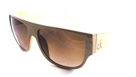 Authentic Calvin Klein Sunglasses CK 3148S 317 58x14x140 Beige / Brown G... - $31.37