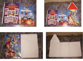 Disney Video Display Lot 1990s Toy Story James & The Giant Peach + more - $28.99