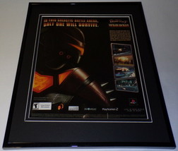 Ratchet Deadlocked 2006 PS2 Framed 11x14 ORIGINAL Advertisement - $22.55