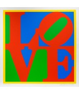 Robert Indiana Heliotherapy Love Screenprint Signed Numbered Pristine JK... - $17,325.00