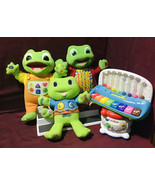 Leapfrog LeapPad Interactive Educational Leap Tad Lily Drum Piano Game T... - $247.50