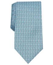 Club Room Men's Angel Fish Print Silk Tie 3.125 Wide NWT  - $14.99