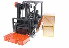 Toyco Toys Action Heavy Equipment Pull Back Forklift Truck Car Vehicle Toy (Batt