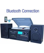 Boytone BT-28SPB, Bluetooth Classic Style Record Player Turntable with A... - $244.80