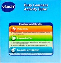 VTech Busy Learners Activity Cube (Frustration Free Packaging) - $14.31