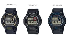 Casio Digital TRT-110H Series Watch TRT-110H-1AV, TRT-110H-2AV & TRT-110H-1A2 - $29.65+